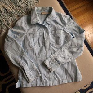 Soft Caslon Button Up Shirt